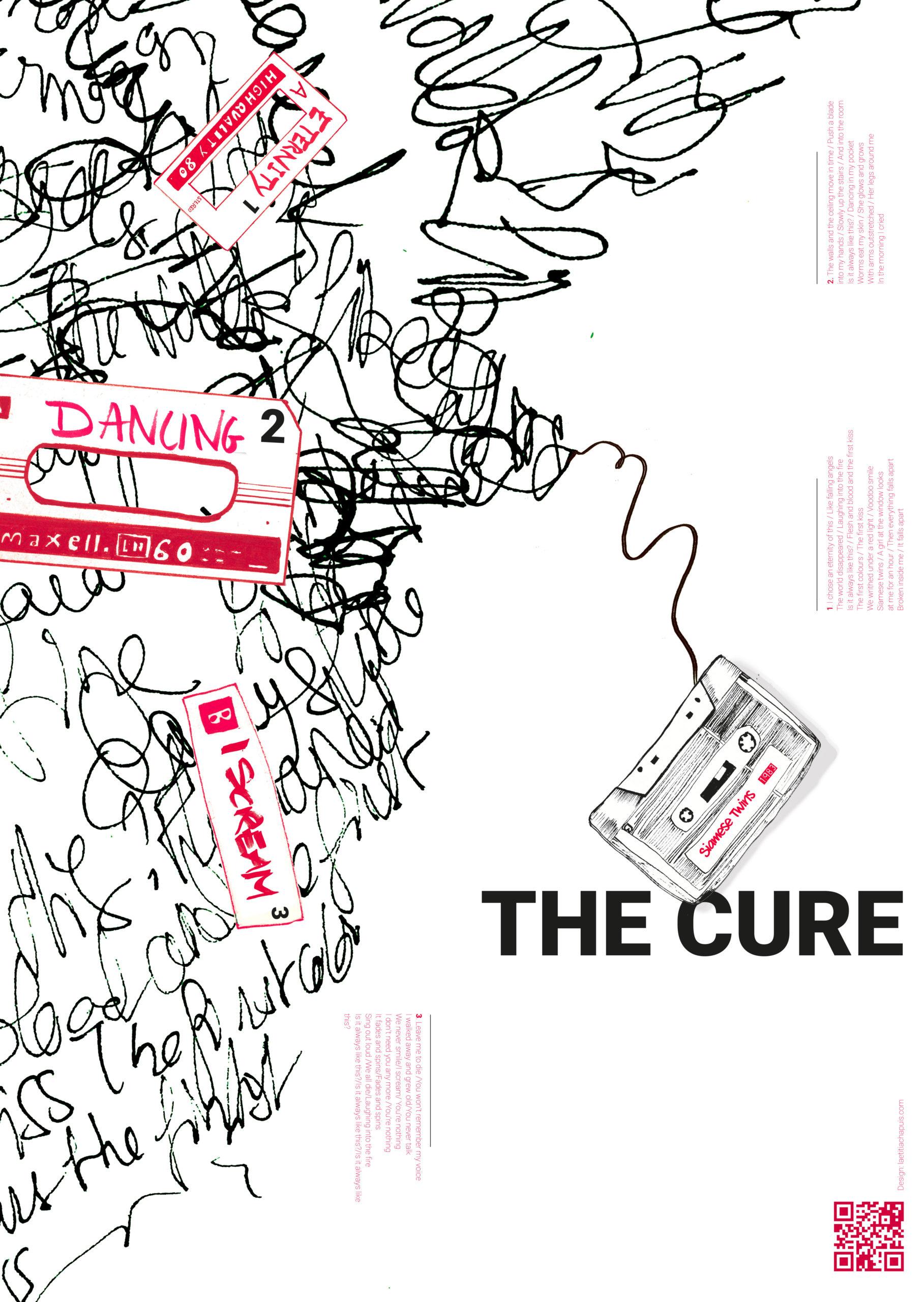 Illustration poster musical Laetitia Chapuis dessin cassette