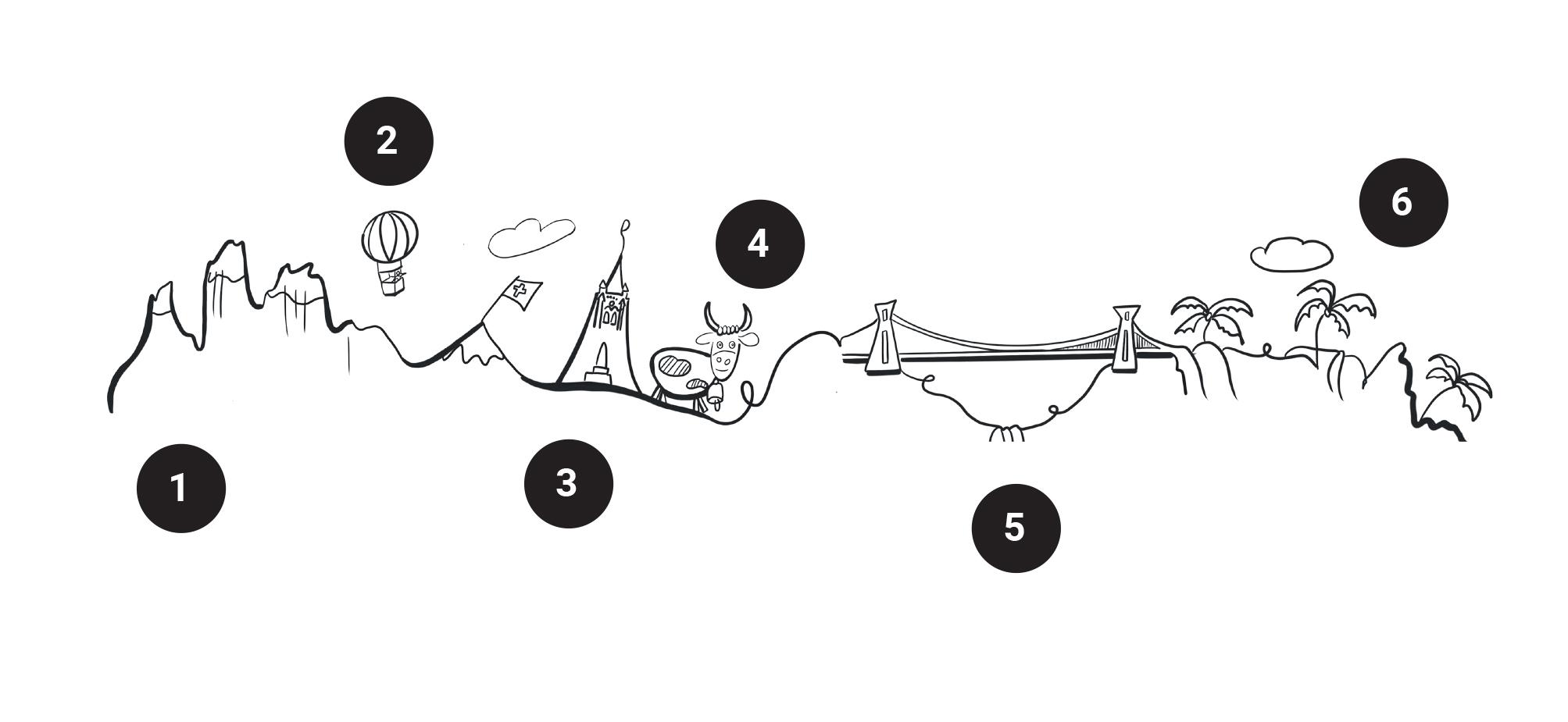 Illustration pour Camping-car et van