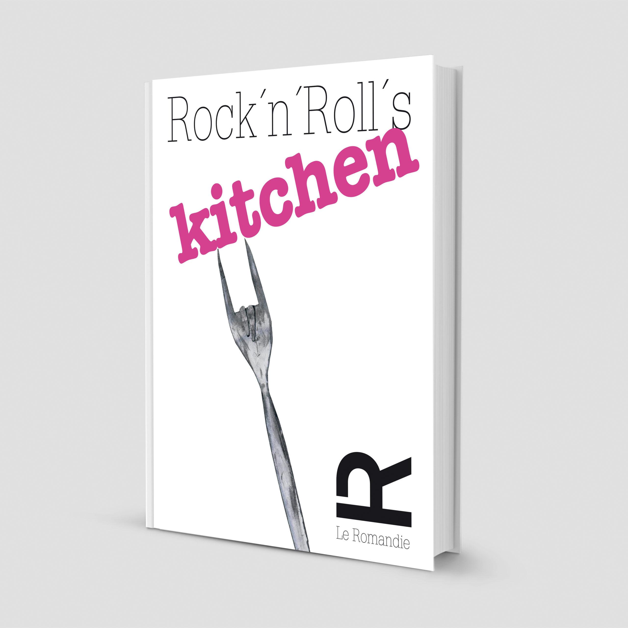 Bookcover livre de cuisine Romandie illustration fourchette