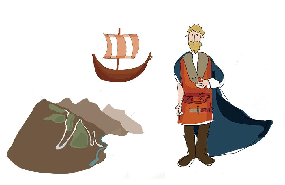 Différents pictogrammes cartes Kontiki