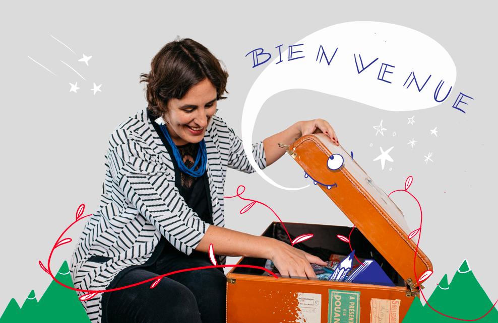 Laetitia Chapuis Illustrations dans une valise magique