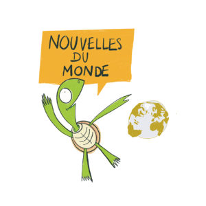 Illustration dessin de tortue Centre Emys - Visuel pour les réseaux sociaux